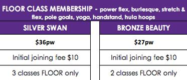 Floor Memberships